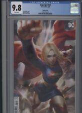 Supergirl #37 CGC 9.8 Derrick Chew variant cover 2020