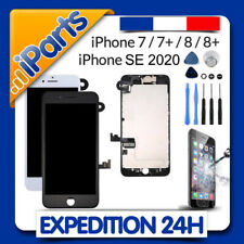 BLOC COMPLET ECRAN LCD VITRE TACTILE IPHONE 7 7 PLUS  8  8+ SE 2020 / NOIR BLANC