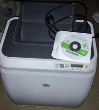 HP Color Laser Jet 2600n Drucker Mit Toner Und CDROM Funktioniert Aber Fehler Be