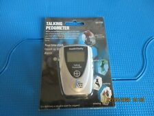 TALKING PEDOMETER NEW IN PACK - DOG WALKING JOGGING RUNNING EXERCISE FITNESS