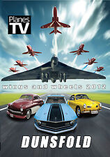 Dunsfold Wings and Wheels Airshow 2012 Official DVD Aircraft Aviation Planes