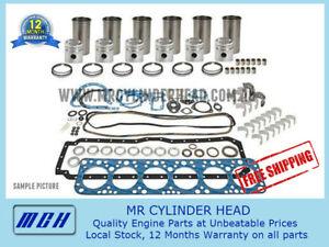 Full Engine Rebuild Kit for Nissan Patrol GU GQ TD42 Diesel + sleeves 4.2L 6cyl