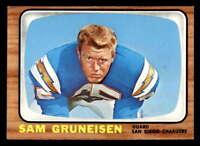 1966 Topps #124 Sam Gruneisen  NM/NM+ X1467184