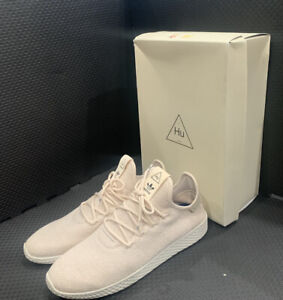 Adidas Pharrell Williams Tennis HU PW Tech Cream Men Shoes AC8699 Size 10 NWB