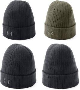 Under Armour 1318539 Men's UA Tac Stealth Beanie 2.0 Beanie Cap Headwear, OSFA