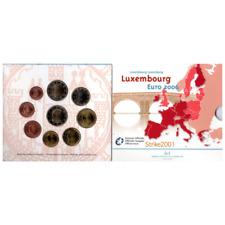 Euro LUSSEMBURGO 2006 in Folder Ufficiale 9 Monete FDC