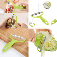 Stainless Steel Potato Peeler Carrot Grater Slicer Fruit Vegetable Cutter Tool