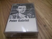 Peter Gabriel Self Titled Cassette Tape with Games without Frontiers