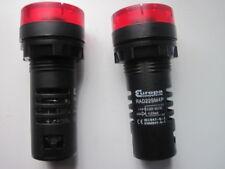 RAD22SM4P EUROPA componenti Lampada A LED CON CICALINO 230V Rosso