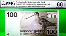 NETHERLANDS 100 GULDEN ND 1981 NEDERLANDSCHE BANK PICK 97 VALUE $1400