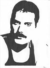 Freddie Mercury, AUTO, CAMPER, CARAVAN, Muro, Decalcomania, Adesivo. fatta in UK.