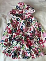 BNWT Baby Girls Disney Minnie Mouse Bath Robe/Dressing Gown Size 12-18 Months