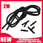 2m Windshield Wiper Washer Jet Tube Pipe Hose W/ Connector T Y For Nozzle Pump photo