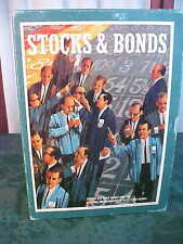1964 3M Bookshelf Stock & Bonds Game-The Game Of Investments