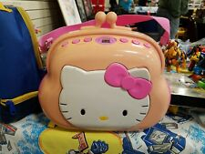 Vintage Working HELLO KITTY Pocketbook AM/FM CD Player TESTED WORKS # KT2027