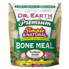 DR. EARTH PREMIUM BONE MEAL 3-15-0, 2.5lb