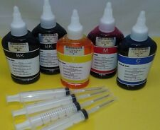 Refill ink bottles for Canon PGI-250 CLI-251 MG5520 5522 MG5620 MG 6420 5x 100ml