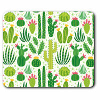 Computer Mouse Mat - Cactus Plant Drawings Cacti Plant Office Gift #15530