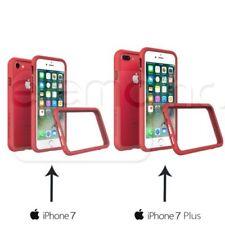 Fundas y carcasas bumperes rojos transparentes para teléfonos móviles y PDAs