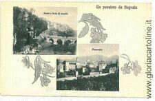 Cartoline paesaggistiche di Viterbo da collezione