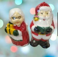 Vintage 90s Target Christmas Santa And Mrs Claus Candles 5 To 6 Inches Sealed