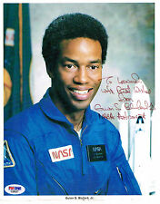 Guion Bluford Signed Nasa Litho Photo Psa/Dna