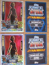 Star Wars Force Attax Karten Serie 4   Force 238 Barriss Offee