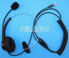 Call Center headset for Nortel Networks  Meridian Option M3110 3310 3820
