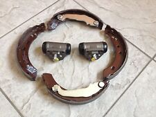 FOR NISSAN MICRA K 11  92-03  SET OF REAR BRAKE SHOES & TWO REAR WHEEL CYLINDERS