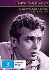 Rebel Without A Cause - East Of Eden - NEW DVD