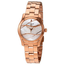 Tissot T-Wave Mother of Pearl Diamond Dial Ladies Watch T112.210.33.111.00