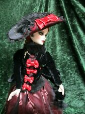 Corky Park a Doll Outfit shown on Evangeline Ghastly doll body by Tonner