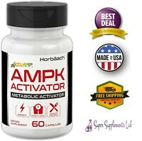 AMPK METABOLIC ACTIVATOR 450mg 60 Capsule Weight Management Jiaogulan Gynostemma