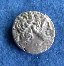 Fantastic RARE Silver Tetradrachm Ptolemy XII 80-55 B.C.