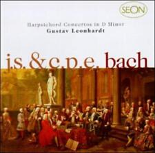 J. S. Bach:  Concerto No. 1 In D Minor, Bwv 1052 & C.P.E. Bach: Concerto In D Mi