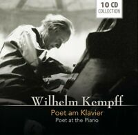 WILHELM KEMPFF - POET AT THE PIANO WALLET 10 CD NEW!