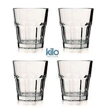 Utopia Casablanca 4er Set Verstärkt Amerikanischer Trinkglas Gläser 330ml