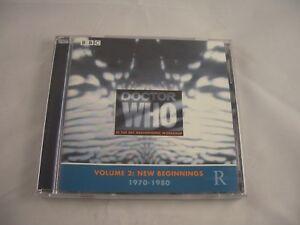 Doctor Who Volume 2: New Beginnings  1970-1980 Music CD
