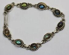 Labradorite Natural Not Enhanced Fine Bracelets