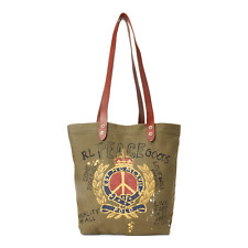 Polo Ralph Lauren Peace Cotton Canvas Men's Tote Green