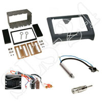 Audi TT 8J  Doppel-DIN Autoradio Blende ISO Stecker OHNE BOSE Antenne Adapter
