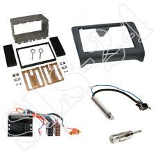 Audi Tt 8j DOUBLE DIN Autoradio Panneau ISO connecteur Sans Bose Antenne Adaptateur