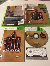 Power Gig: Rise of the SixString (Microsoft Xbox 360, 2010) Complete GAME ONLY