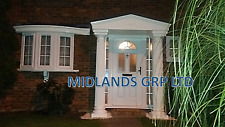 Felicia GRP Door Entrance Canopy and Columns Package. Porch Entrance Kit & grp door canopy products for sale | eBay
