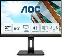 """AOC Q27P2Q - LED-Monitor - (27"""") - 2560x1440 HDMI, DP, VGA - Displaykratzer"""