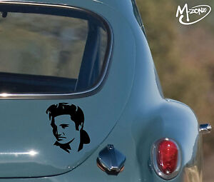 Elvis Presley Car Stickers Truck Boat Laptop Stickers Decals Gifts Presents-