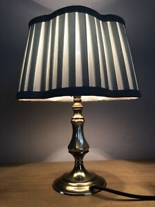 Vintage Retro Brass Candlestick side Table light Lamp Classical Feature Column