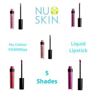 Nu Skin Nu Colour POWERlips Fluid Matte NOBLE DETERMINED ROAR PERSISTENCE REIGN