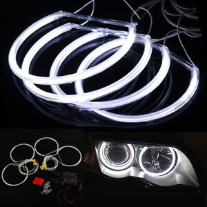 Angel Eyes Light For BMW E36 E38 E39 E46 White Car Headlight LED CCFL Halo Rings