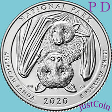 2020 P&D NATIONAL PARK OF AMERICAN SAMOA QUARTERS SET UNCIRCULATED PRESALE FEB 3